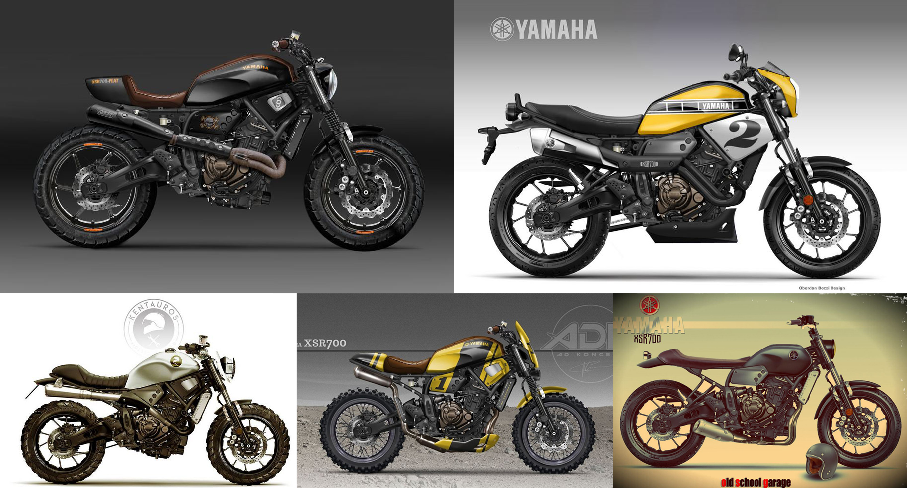 yamaha xsr 700 umbau motorrad bild idee. Black Bedroom Furniture Sets. Home Design Ideas